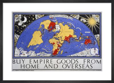 Empire Marketing Board, Highways Of Empire by Macdonald Gill