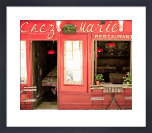 A Parisian Bistro by Keri Bevan