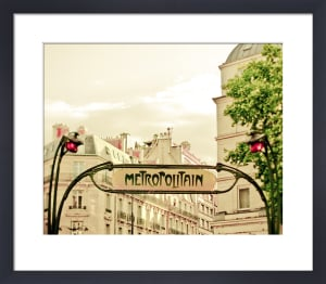 Paris Art Nouveau Metro by Keri Bevan