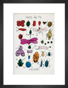 Happy Bug Day by Andy Warhol