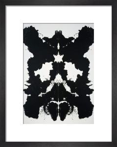 Rorschach, 1984 by Andy Warhol