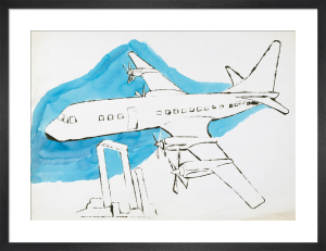 Airplane, c.1959 by Andy Warhol