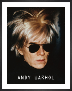 Self-Portrait in Fright Wig, 1986 by Andy Warhol
