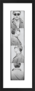 Self Portrait, 1963 (photobooth) by Andy Warhol