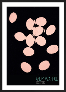 Eggs, 1982 (pink) by Andy Warhol