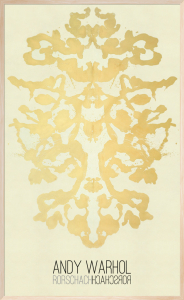 Rorschach, 1984 (Special Edition) by Andy Warhol