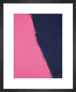 Shadows II, 1979 (black & pink detail) by Andy Warhol