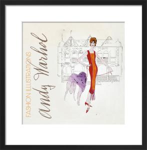 Female Fashion Figure, c.1959 by Andy Warhol