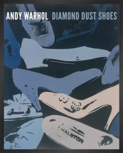 Diamond Dust Shoes, 1980-81 (blue-grey) (Special Edition) by Andy Warhol