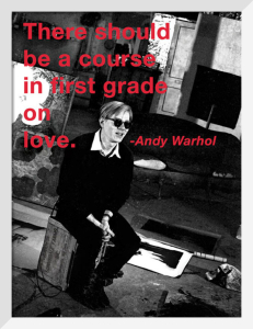 First Grade by Andy Warhol