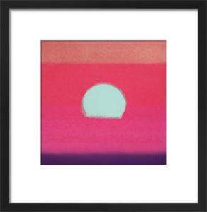 Sunset, 1972 (fuchsia) by Andy Warhol