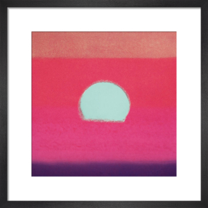 Sunset, 1972 (fuchsia) by Andy Warhol
