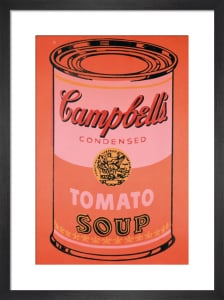 Campbell's Soup Can, 1965 (orange) by Andy Warhol