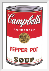 Campbell's Soup I, 1968 (pepper pot) by Andy Warhol