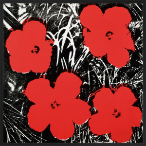 Flowers, c.1964 (4 red) by Andy Warhol