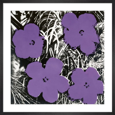 Flowers, c.1964 (4 purple) by Andy Warhol