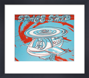 Space Ship, 1983 by Andy Warhol