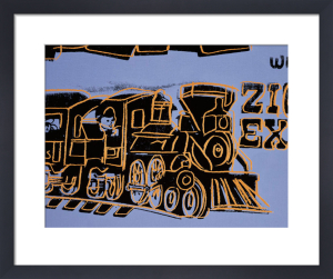 Train, 1983 by Andy Warhol