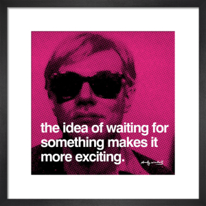 Waiting by Andy Warhol