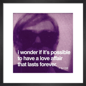 Love Affair by Andy Warhol