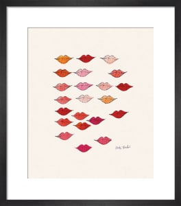 Stamped Lips, c.1959 by Andy Warhol