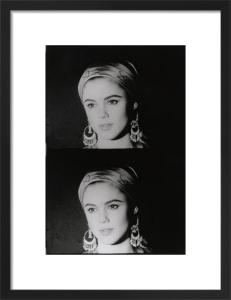 Screen Test: Edie Sedgwick, 1965 by Andy Warhol