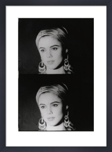 Screen Test: Edie Sedgwick, 1965 by Andy Warhol