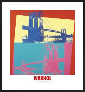 Brooklyn Bridge, 1983 by Andy Warhol