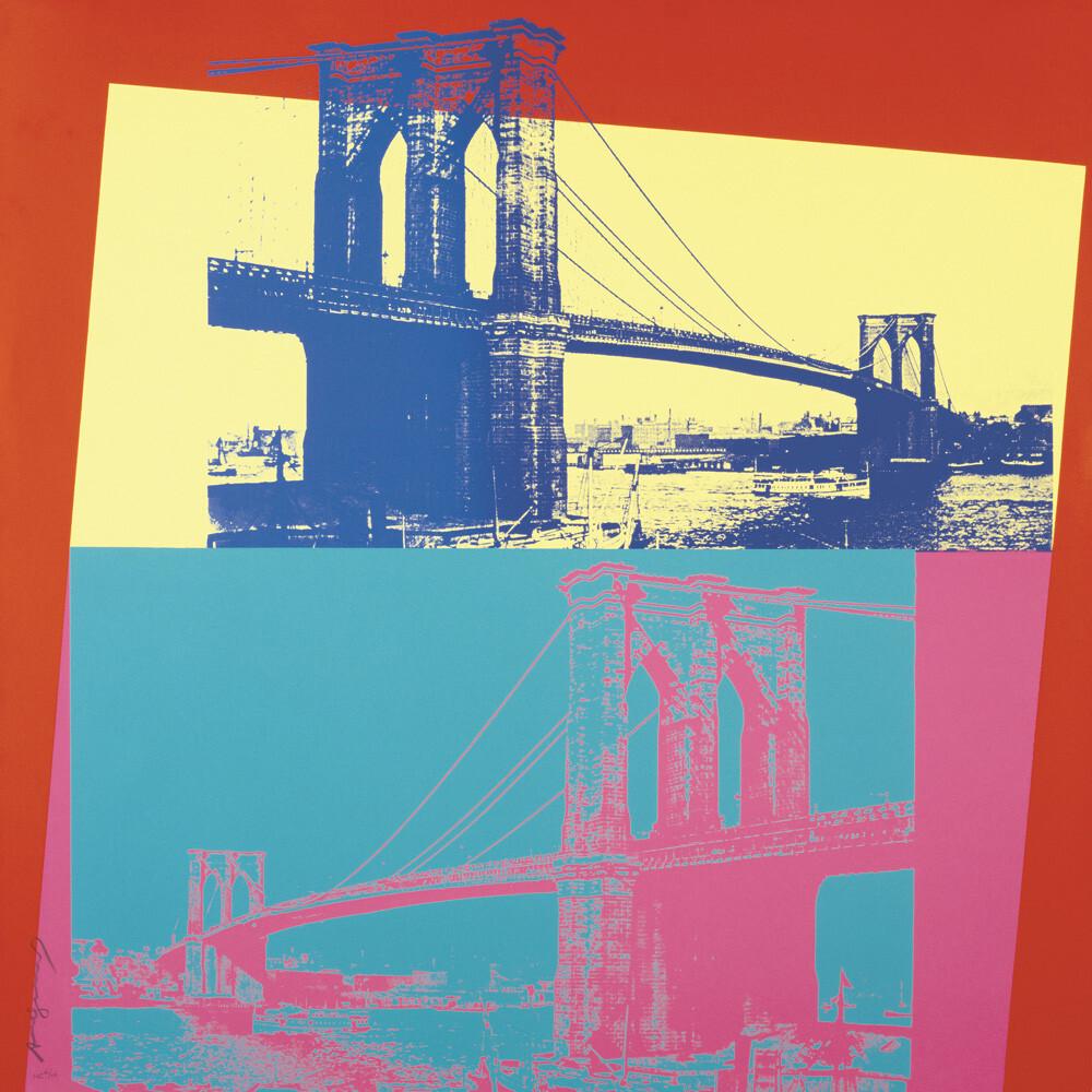 Brooklyn bridge 1983 art print by andy warhol king mcgaw brooklyn bridge 1983 malvernweather Choice Image