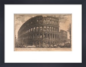 The Coliseum, Rome by Giovanni Battista Piranesi