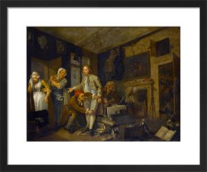 A Rake's Progress I: The Heir by William Hogarth
