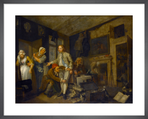 A Rake's Progress I: The Heir by William Hogarth