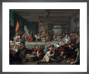 An Election I: An Election Entertainment by William Hogarth