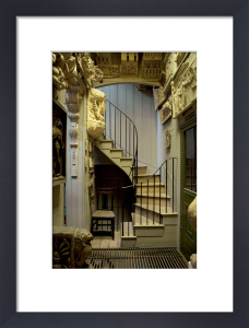 Staircase to Students Room by Derry Moore