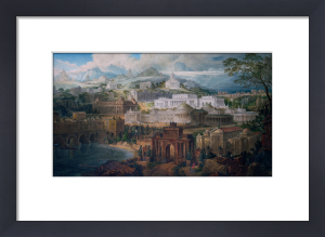 Architectural Visions of Early Fancy, in the Gay Morning of Youth, and Dreams in the Evening of Life by Joseph Michael Gandy