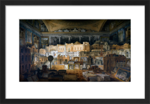 Various designs [by John Soane] for Public and Private Buildings 1780-1815 by Joseph Michael Gandy