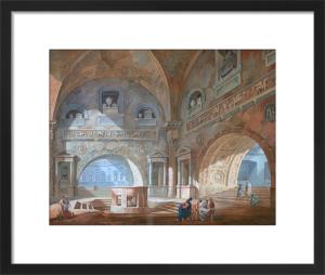 Interior of a Sepulchral Chamber by Joseph Michael Gandy