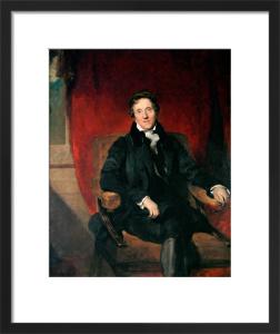 Sir John Soane, Aged 76 by Sir Thomas Lawrence