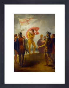 The Landing of Richard II at Milford Haven by William Hamilton