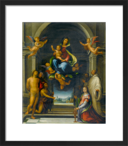 The Virgin and Child, Surrounded by Saints by Fra Bartolommeo