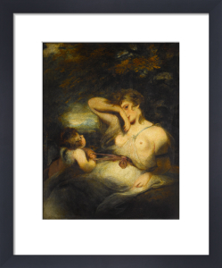 The Snake in the Grass (Love Unloosing the Zone of Beauty) by Sir Joshua Reynolds