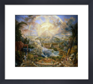 The Mount of Congregation by Joseph Michael Gandy