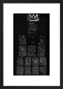 Tuxedo, 1982-3 by Jean-Michel Basquiat