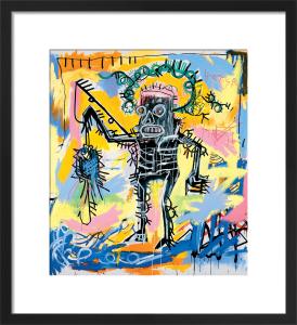 Untitled (Fishing) 1981 by Jean-Michel Basquiat