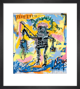 Untitled (Fishing) 1981 by Jean-Michel Basquiat