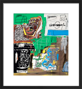 Sienna, 1984 by Jean-Michel Basquiat