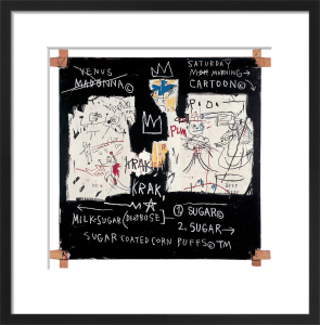 Panel of Experts, 1982 by Jean-Michel Basquiat