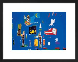 Antar, 1985 by Jean-Michel Basquiat
