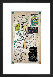 Danny Rosen, 1983 by Jean-Michel Basquiat