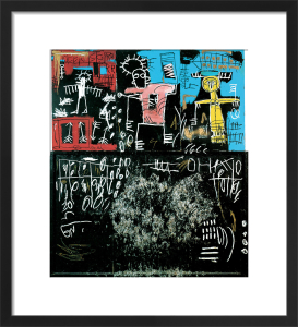 Untitled (Black Tar and Feathers) 1982 by Jean-Michel Basquiat